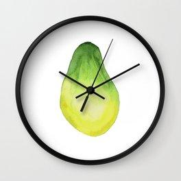 Papaya.Tropical Fruit. Wall Clock