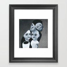 The Aging Ritual Framed Art Print