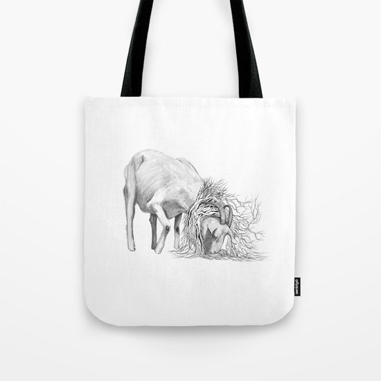 The Goat - Tangled Tote Bag