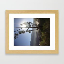 Sunrise in Peru Framed Art Print