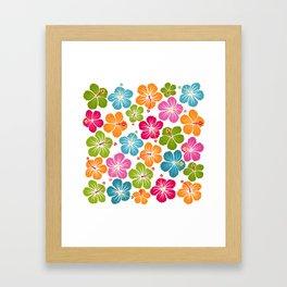 Hibiskus 2 Framed Art Print