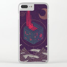 It Appeared in the Night Sky, and It Made the Wind Sharp Clear iPhone Case
