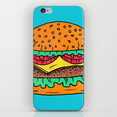 Burger iPhone & iPod Skin