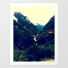 Tiger Leaping Gorge Art Print