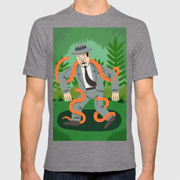 Man with Snakes T-shirt