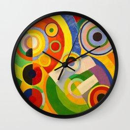 Robert Delaunay - Rhythm, joy of living - Digital Remastered Edition Wall Clock
