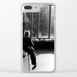 Afternoons Clear iPhone Case