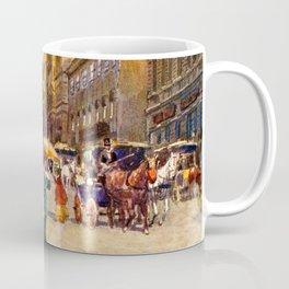 Great vintage belle epoque scene Vienna Austria  Coffee Mug
