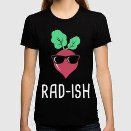 Rad-Ish | Radish Farmer's Market Design T-shirt