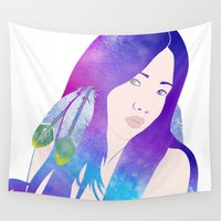 return Wall Tapestries featuring Return to Paradise by Stevyn Llewellyn