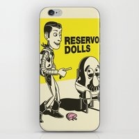 reservoir dogs iPhone & iPod Skins featuring reservoir dolls  by tshirtsz