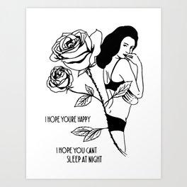 Wishing you well... Art Print