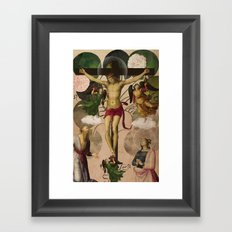Saints Collection -- re-birth Framed Art Print