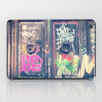 doors iPad Cases featuring doors by dillon hesse