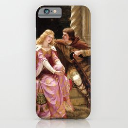 "Edmund Blair Leighton ""Tristan and Isolde"" iPhone Case"