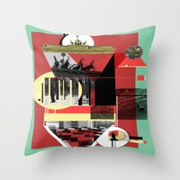 berlin Throw Pillows featuring Berlin. by Grant Pearce