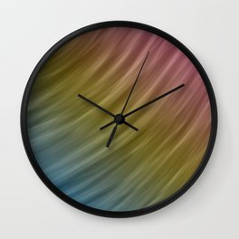 Abstract painting color texture 16 Wall Clock