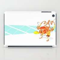 street fighter iPad Cases featuring STREET FIGHTER - DHALSIN by mirojunior