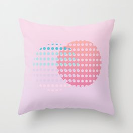 Holographic dream Throw Pillow