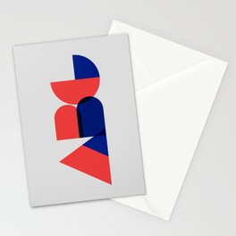 Geometric ABC Stationery Cards