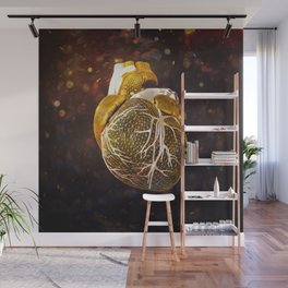 The Heart Of My Heart // So Far From Home Gold Edit Wall Mural
