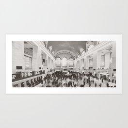Grand Central Ants Art Print