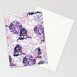 Qajar Faces Stationery Cards