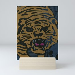 Golden Tiger Mini Art Print