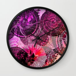 Spinning Around in Circles Wall Clock