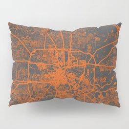 Houston map Pillow Sham