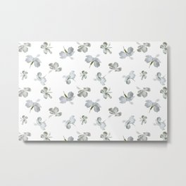 Hibiscus Floral Metal Print