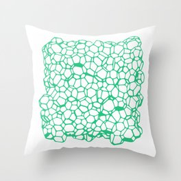 Random Foam (Old Palmolive) Throw Pillow