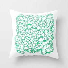 Random Foam (Old Palmolive) Throw Pillow
