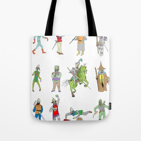 Knights of the Living Dead Tote Bag