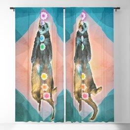 Ferret Shavasana Blackout Curtain