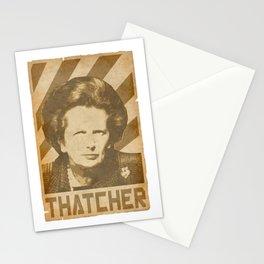 Margaret ThatcherRetro Propaganda Stationery Cards