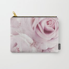 Flowers, Roses, Plant, Pink, Fashion, Scandinavian, Minimal, Wall art Carry-All Pouch