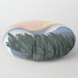 The Wilderness Floor Pillow