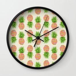 Pineapple or Pot Wall Clock
