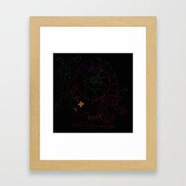 asynmetory Framed Art Print