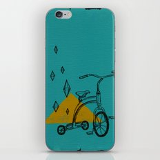 confidant I. (tricycle) iPhone & iPod Skin