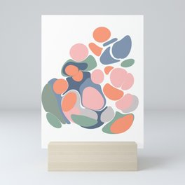 Abstract Shape Flower Art Mini Art Print