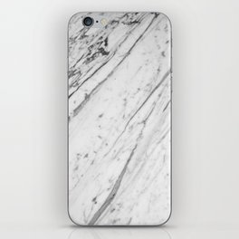 Classic White Marble #2 #decor #art #society6 iPhone Skin