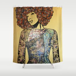 All The Pretty Things III Shower Curtain