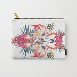 Flamingos Tropicales Carry-All Pouch