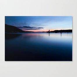 Le Grand Bleu Canvas Print