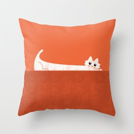 Mark's Superpower: cat Superstretch Throw Pillow