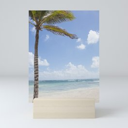 Paradise Beach Mini Art Print