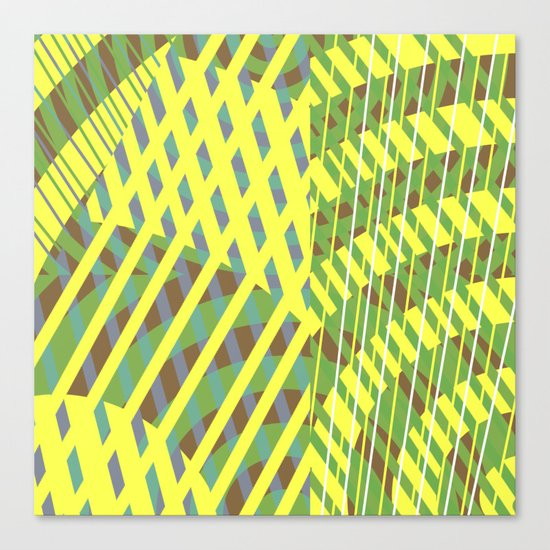 Greens Canvas Print