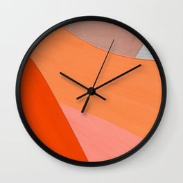 Enjoyment of life Wall Clock